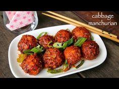cabbage manchurian recipe, dry cabbage veg manchurian recipe with step by step photo/video. Puri Recipes, Pakora Recipes, Cutlets Recipes, Paratha Recipes, Chaat Recipe, Samosa Recipe, Spicy Recipes, Cooking Recipes, Biryani Recipe