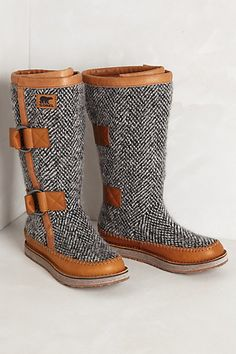 Maybe the best things ever? Sorel Chipahko Boots.