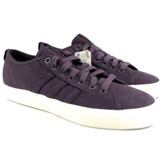 9f2dddc2b Adidas Matchcourt RX Mens Size 8.5 Shoes Low Top Sneaker Purple Suede  Skateboard  fashion