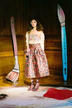 See all the Collection photos from Tsumori Chisato Autumn/Winter 2017 Ready-To-Wear now on British Vogue Live Fashion, Fashion 2017, Runway Fashion, Fashion Trends, Issey Miyake, Fashion Show Collection, Winter Collection, Winter 2017, Fall Winter