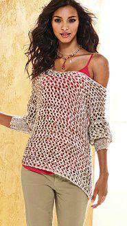 Open Stitch Sweater VS