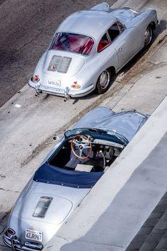 Porsche 356 Coupe and Cab