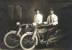 William Harley and Arthur Davidson (1914)