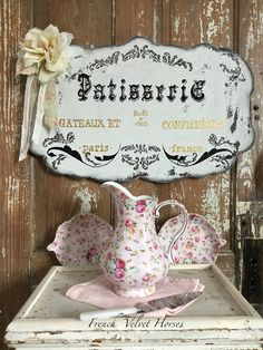 French Pastry Shop patisserie sign Paris by FrenchVelvetHorses