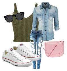 Comfy Monday's by lalachicuk on Polyvore featuring polyvore, fashion, style, LE3NO, Converse, Mansur Gavriel and Smoke & Mirrors