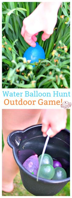 Water Balloon Hunt Outdoor Game for Kids