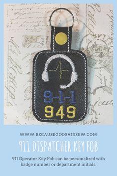 Keyfob Thank You Gift 911 Dispatcher Keychain 911 Dispatcher Car 911 Dispatcher Gift 911 Dispatcher Lanyard 911 Dispatcher Charm