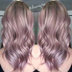 Luxury Lilac Blonde 60 Hottest Balayage Hair Color Ideas 2019 Balayage Hairstyles For pertaining to ucwords] Lavender Hair, Lilac Hair, Pastel Hair, Pastel Ombre, Violet Hair Colors, Hair Colours, Pastel Pink, Purple Blonde Hair, Ombre Hair