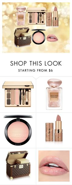"""Pastel Lips"" by bakoflower on Polyvore featuring Schönheit, Giorgio Armani, MAC Cosmetics und tarte"