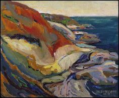 View Along the Cliff, Beacon Hill, Victoria By Emily Carr; oil on board; 15 x 18 in; Access more artwork lots and estimated & realized auction prices on MutualArt. Emily Carr Paintings, Paintings I Love, Small Paintings, Acrylic Paintings, Oil Paintings, Canadian Painters, Canadian Artists, Abstract Landscape, Landscape Paintings