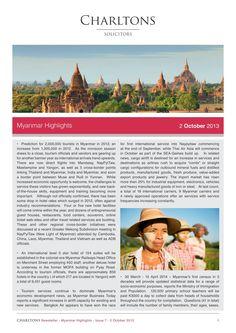 Myanmar Highlights - 2 October 2013