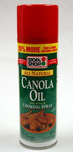 Cooking spray, helps to cook food w/ out all the added fat, but use canola or olive oil ♥ healthy