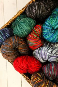 Longstanding favorite Plymouth Happy Feet is now available in 100 gram hanks for more yardage and more sock knitting fun.