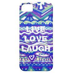 Live Love Laugh iPhone SE/5/5s Case