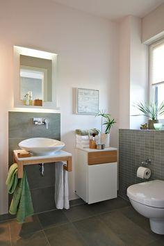 #Viebrockhaus Edition 500 B #WOHNIDEE-Haus - Ein Bungalow mit frischen Wohnideen - #GästeWC