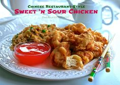 Homemade Battered Sweet 'n Sour Chicken | Just Like Chinese Take Out | Wildflour's Cottage Kitchen