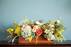blossom sweet: a stunning bouquet and lush centerpieces