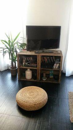 mueblesdepaletsnet 4 muebles para la tv con cajas de fruta