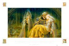 Sleeping Beauty, Kinuko Craft, KY Craft, 9781587171208, Little Acorn Books, Little Acorn Kids