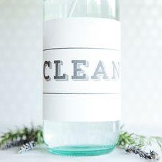 lemon oil kitchen cleaner