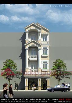 Kiến trúc đẹp nhà phố quận 2 | CTy THIẾT KẾ NHÀ ĐẸP