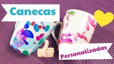 DIY: CANECAS PERSONALIZADAS | Por Jacky Coutinho