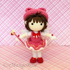 Cardcaptor Sakura muñeco de Amigurumi ganchillo por xMangoRose