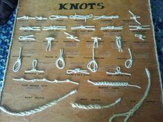 Knot Board: 26 knots, 3 splices.