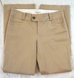 Banana Republic Martin Fit Khaki Womens Dress Pants Size 10 (S7#851) #BananaRepublic #DressPants Denim Branding, Big Star, Dress Pants, Bermuda Shorts, Banana Republic, Casual Shorts, Pants For Women, Size 10, Fit