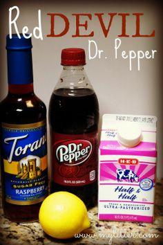 Red Devil Dr. Pepper Recipe