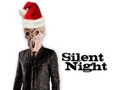 Doctor Who Inspired Christmas Card Freebies!  Silence!  Silent Night!
