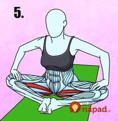 Tento pohyb dokáže odblokovať zacviknutý nerv: Chrbát ako nový a bolesť je v momente preč - skúste to hneď! Ecards, Yoga, Workout, Memes, Technology, Tech, Work Outs, Yoga Tips, Tecnologia