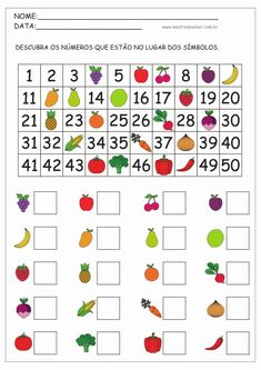 14 - Atividades de Matemática 1 ano Math Addition Worksheets, Kindergarten Math Worksheets, Preschool Learning Activities, Preschool Math, Math Classroom, Teaching Math, Free Activities, Math For Kids, Menu Principal