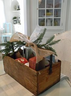 totally out of the box ideas (or in the box ideas) for wrapping!