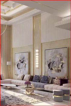 Classic Living Room, Elegant Living Room, Luxury Living Rooms, Modern Living Room Design, Interior Design Living Room, Living Room Designs, Drawing Room Interior Design, Best Home Interior Design, Flat Interior