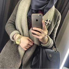 Find images and videos on We Heart It - the app to get lost in what you love. Stylish Watches For Girls, Stylish Girls Photos, Stylish Girl Pic, Stylish Hijab, Casual Hijab Outfit, Muslim Women Fashion, Arab Fashion, Hijabi Girl, Girl Hijab