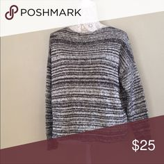 Madewell Threadmix Boatneck Sweater Reposting this sweater because it is a bit big on me! Looking for a new home!! Madewell Sweaters Crew & Scoop Necks