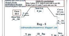 Cava Raglã-Acabamento Decote Redondo-Esquema   Em Lã Industrial Acrílico HB 3 fios 2/28  Tamanho 44.   clique na URL, para f...