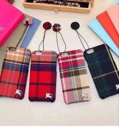 Burberry case for iPhone