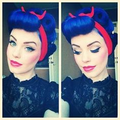 Pin Up Hair Inspiration (Vol. 22)