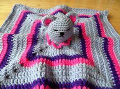 Blanket Buddy - Sleeping Teddy Beanie, Hats, Handmade, Accessories, Fashion, Moda, Hand Made, Hat, Fashion Styles