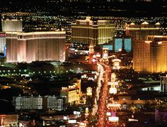 The Strip at Night.  My favorite place to be no matter what time of the day it is.