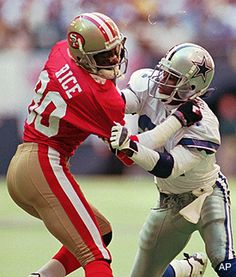 Jerry Rice on Deion Sanders top match up of the 90's