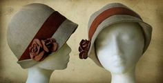 Making a retro hat - Cloche