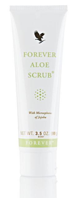 Try #Forever Aloe Scrub for that delightful clean, yet soft feeling! http://link.flp.social/WTm8u9