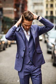 Three piece suit... Tie? #LK