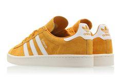 51c8111b9fe adidas Campus Shoes Yellow BZ0088