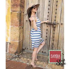 La alegría y la espontaneidad siempre te harán lucir hermosa!! #SandiaStreetStyle