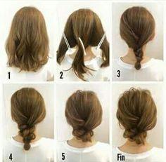 Te verás hermosa con éstos peinados pensados en tu cabello corto.