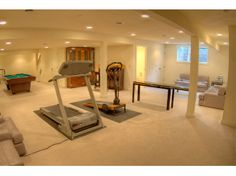 basement rec room ideas | susan bertram designs | winnetka